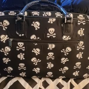 Skull Duffle/Travel Bag